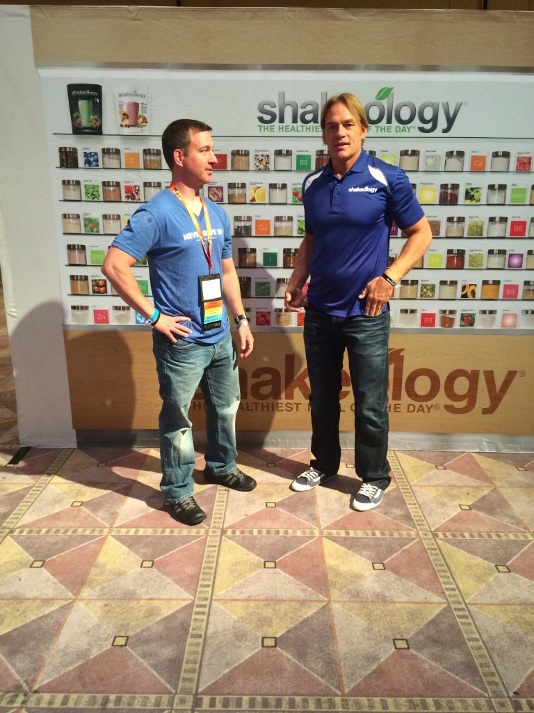 Darin Olein Shakeology and Mike