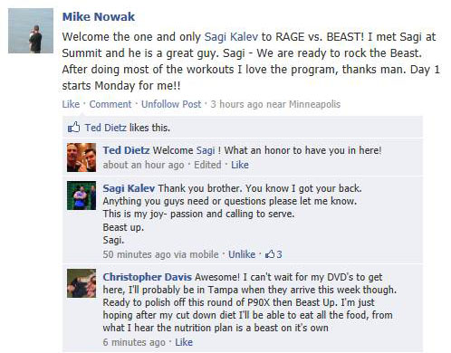 Body Beast Review - Sagi and Rage