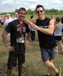Mike and Tony Horton Mud Games