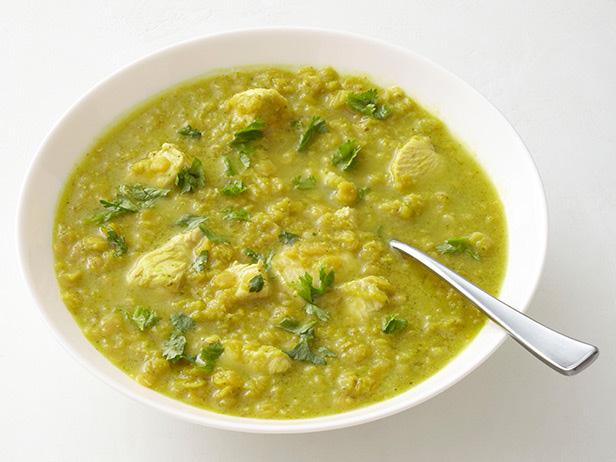 Chicken Lentil Curry Soup