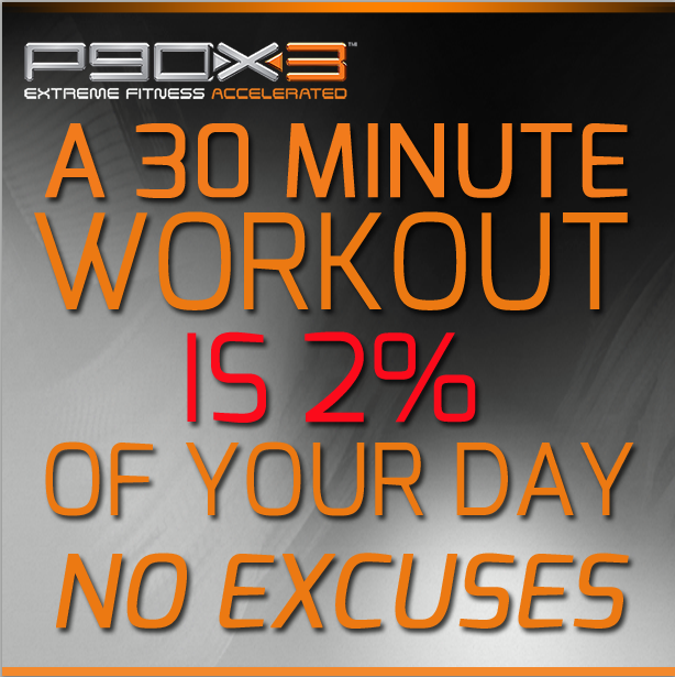 P90X3 No Excuses