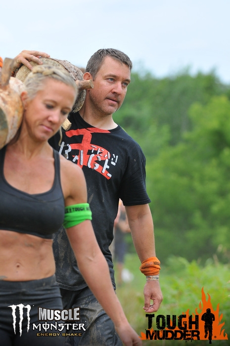 Tough Mudder Log Carry