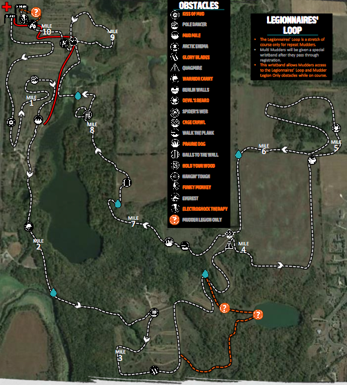 Tough Mudder TC Course