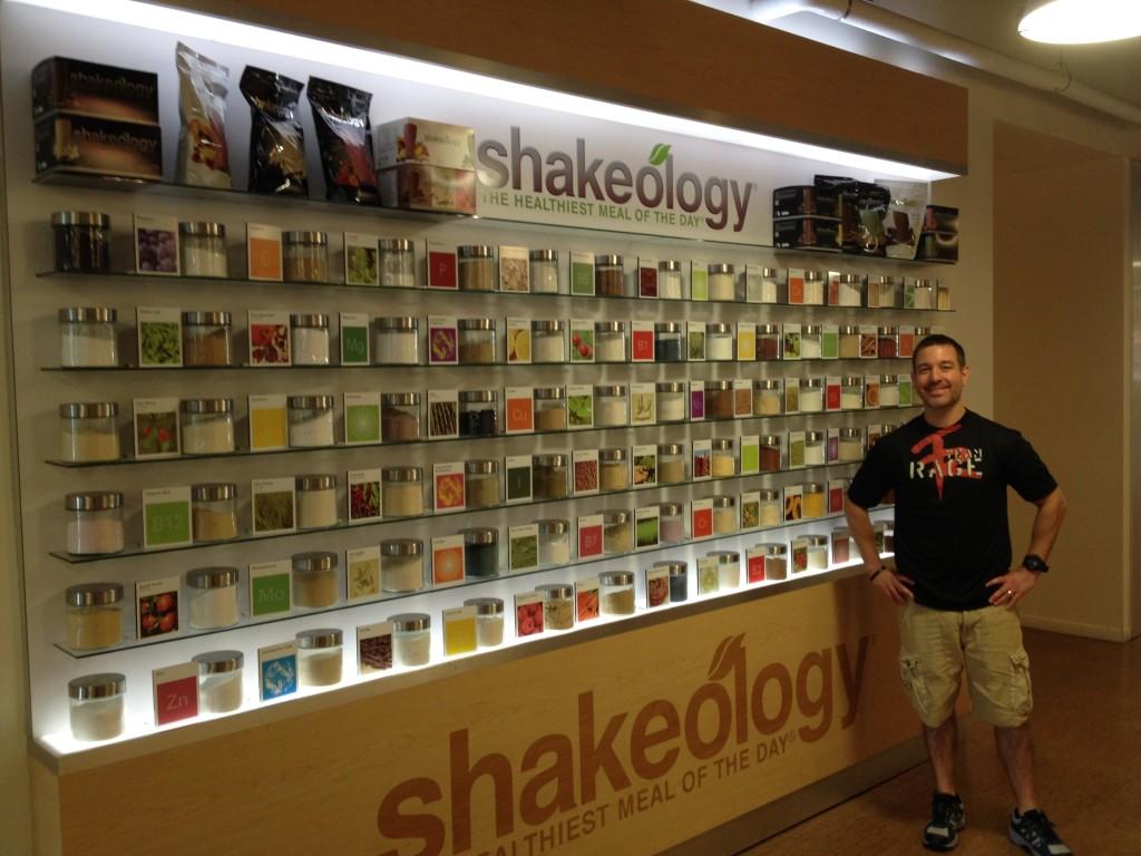 Mike Shakeology Wall Beachbody Headquarters