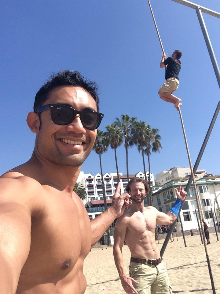 Fun At Beachbody Hq And Muscle Beach How Do I Get Ripped