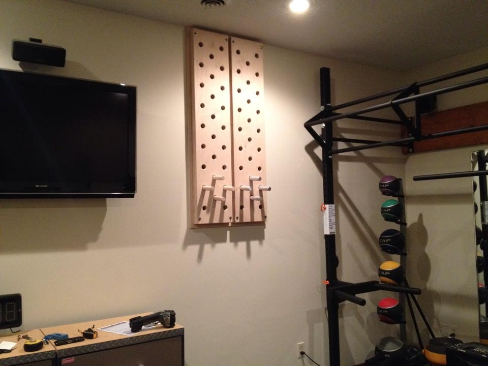 Peg Boards Team Rage Home Gym