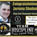 Congrats New Team Rage Star Diamond Coach – Jeremy Shuhart