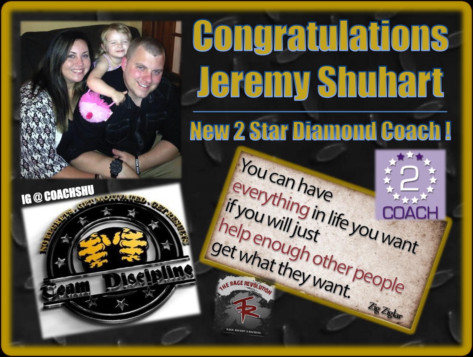 Shuhart 2 Star Promotion