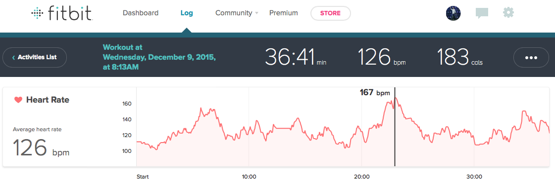 Chisel Endurance Heart Rate Review Fitbit