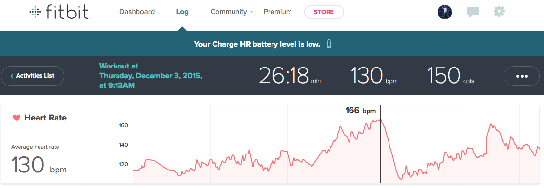 Hammer Plyo Heart Rate Review Fitbit