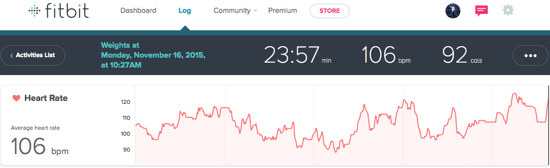 Hammer and Chisel Review Iso Speed Hammer Heart Rate FitBit