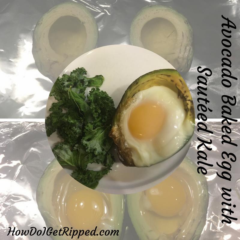 Avocado Baked Egg Recipe