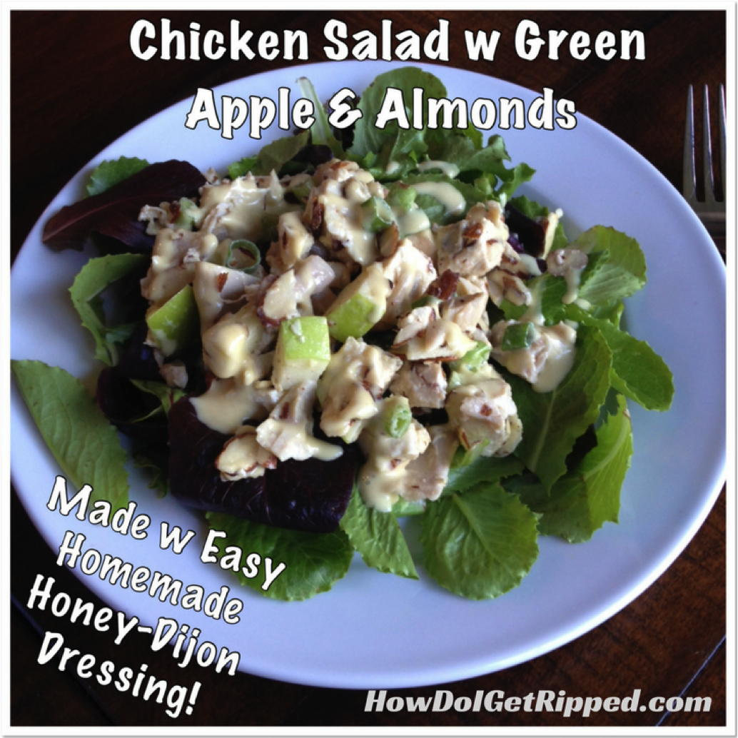 Chicken Almond Apple Salad