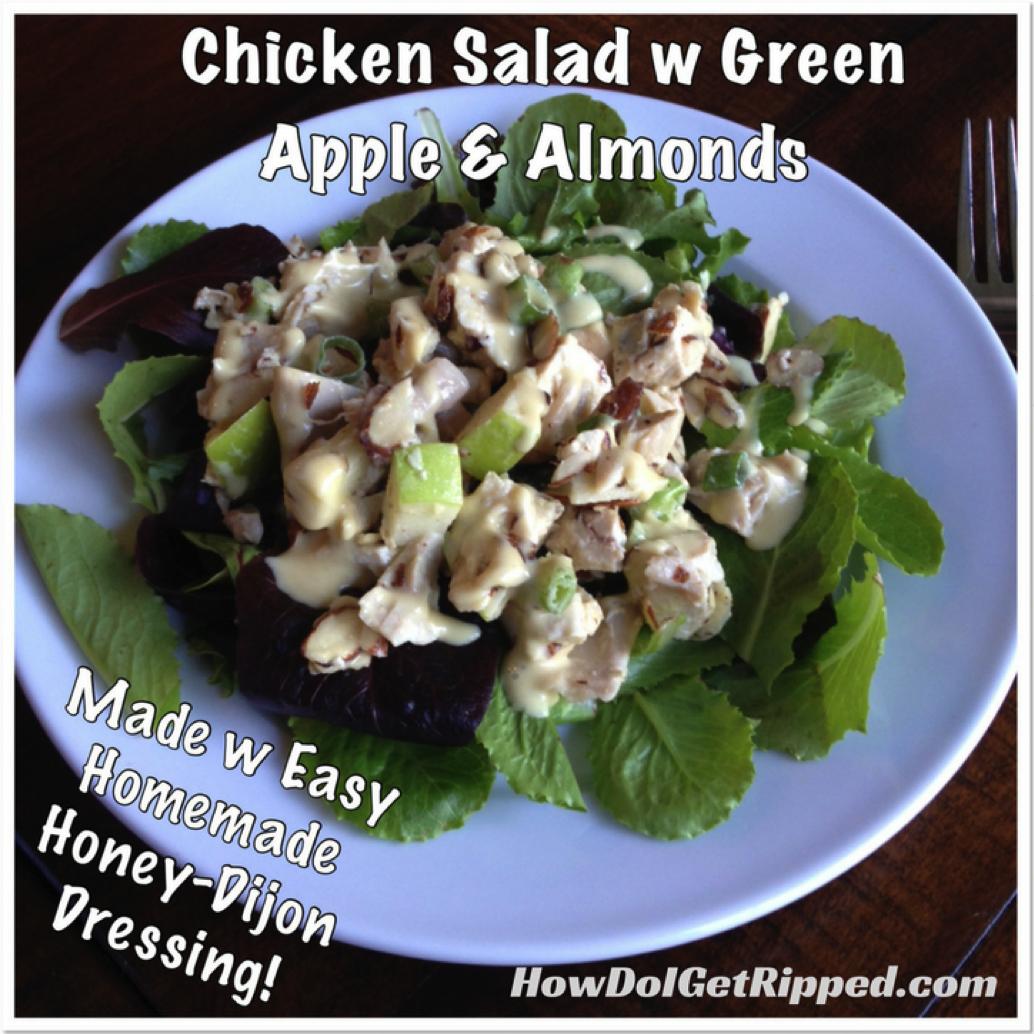 Chicken Almond Apple Salad
