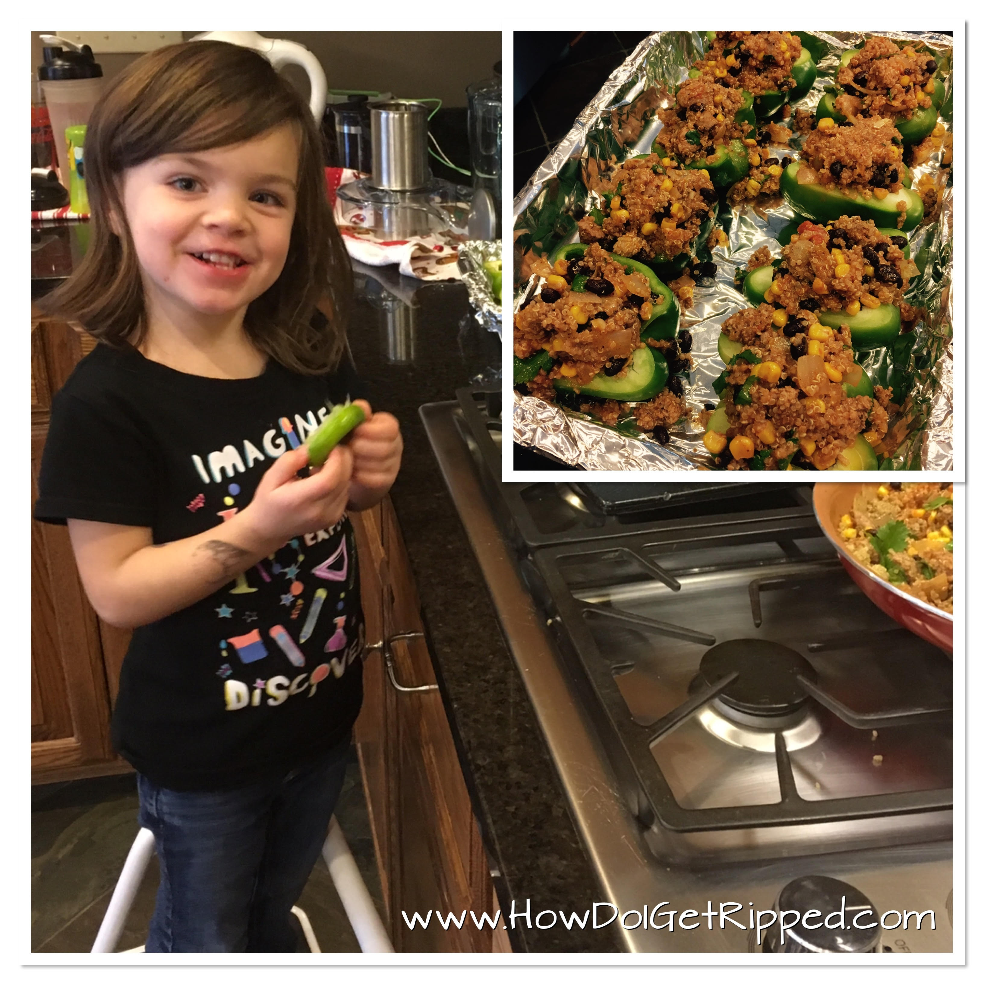 Kid Approved Stuffed Peppers
