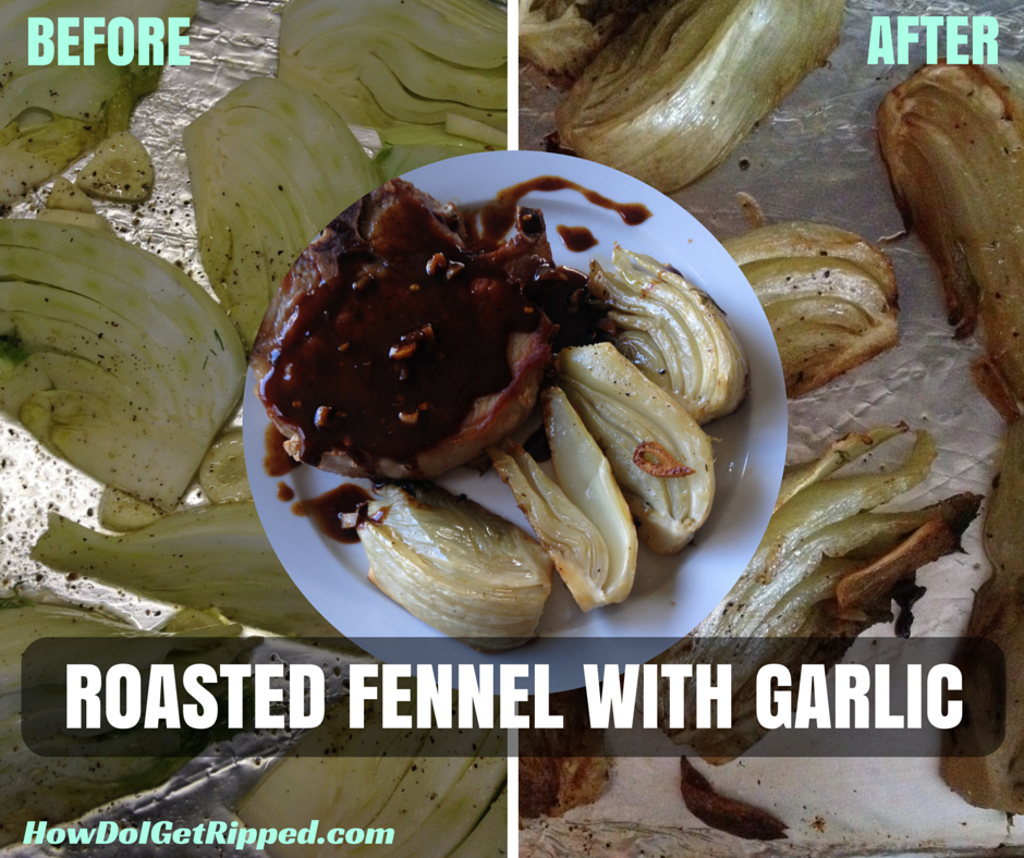 Roasted Fennel with Garlic