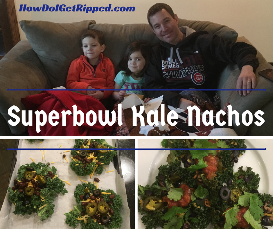 Superbowl Kale Nachos