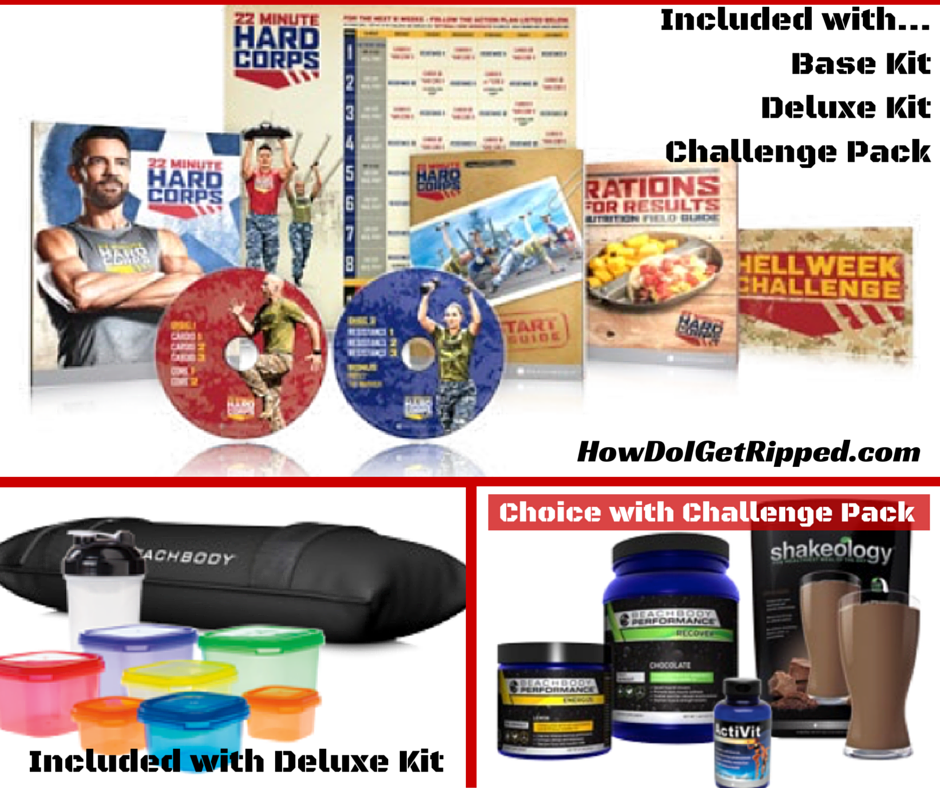 22 Minute Hard Corps Review Kits