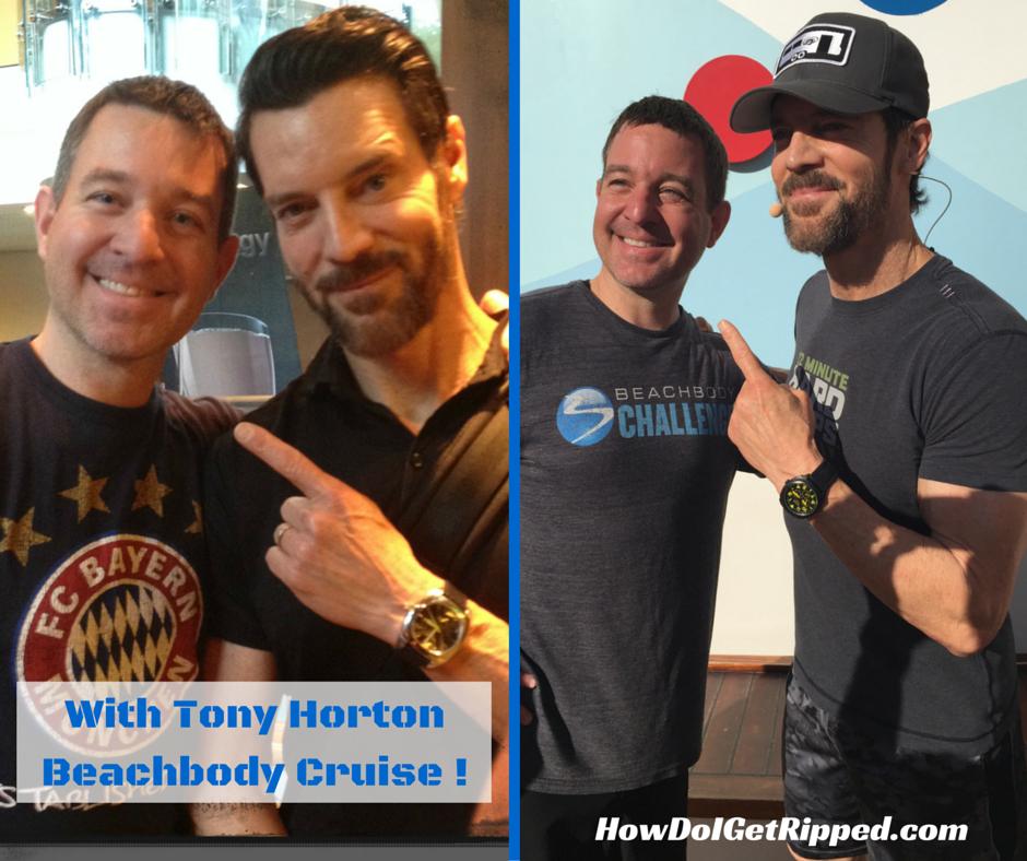 Tony Horton and Mike S.S. Beachbody Cruise