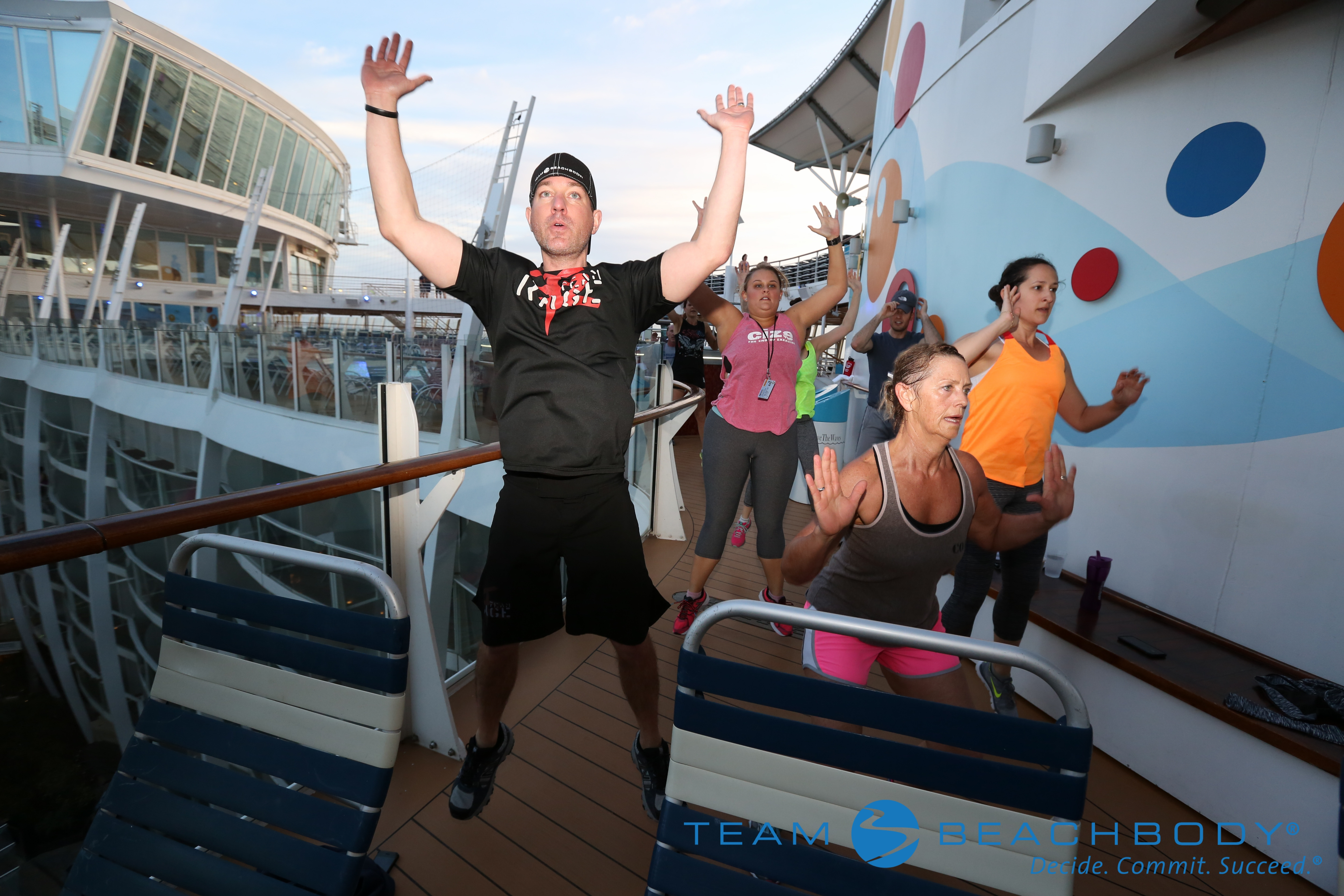 Mike 22 Minute Hard Corps Workout S.S. Beachbody Cruise