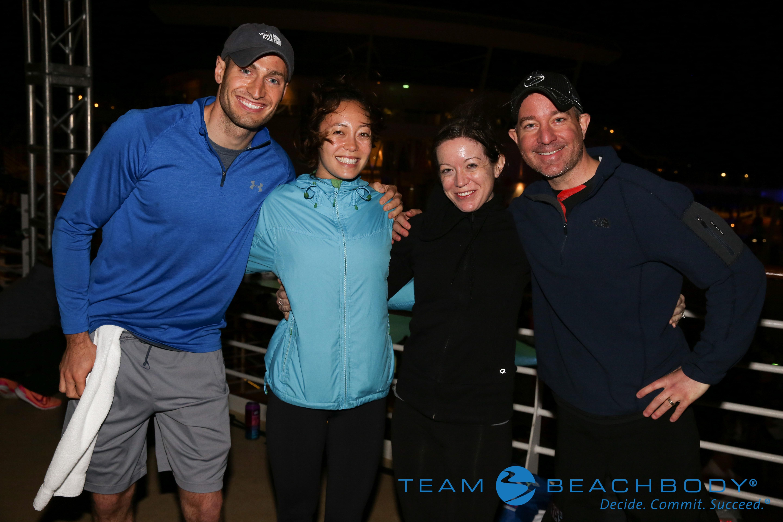 TEAM RAGE Members S.S. Beachbody Cruise