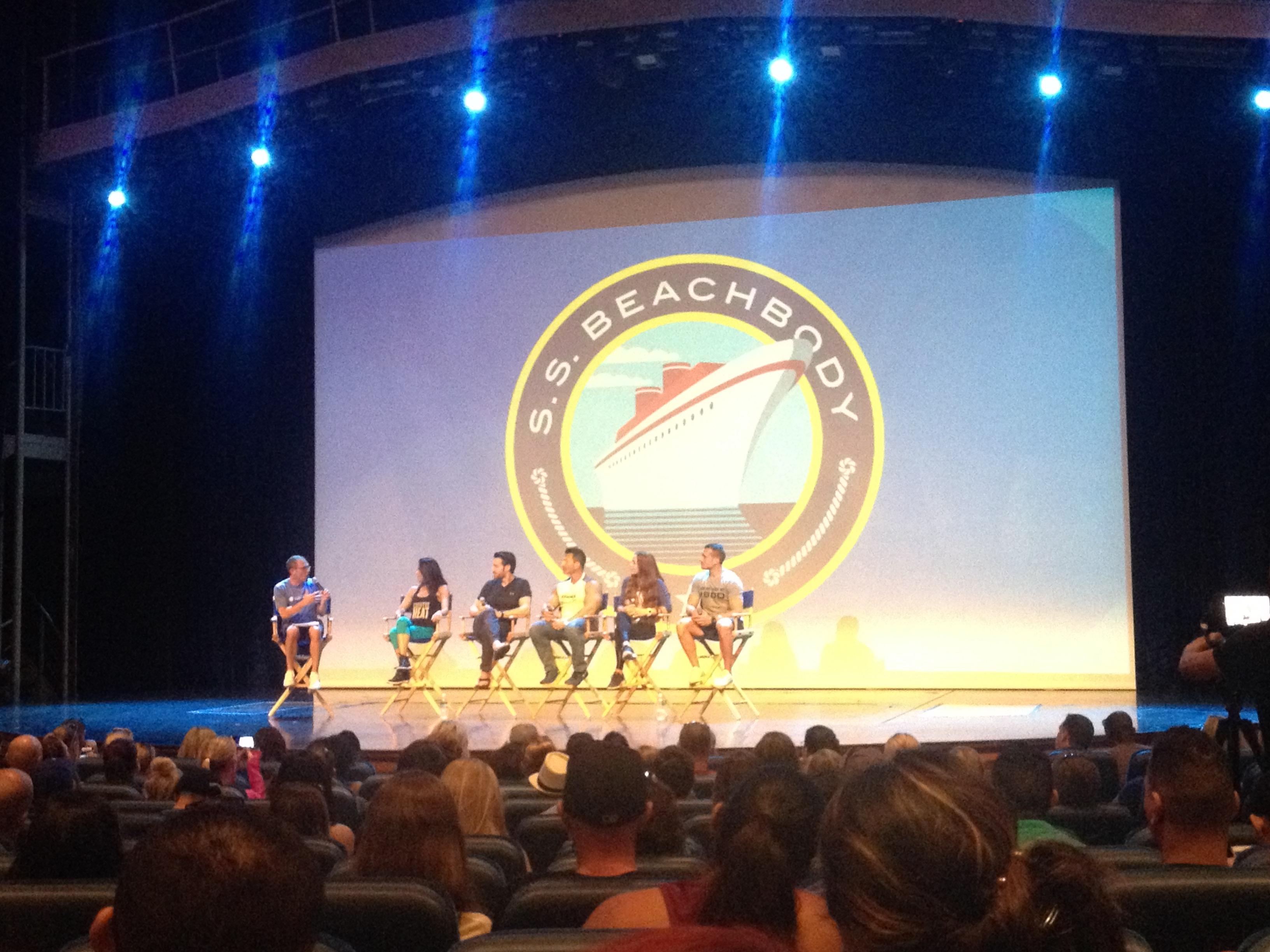 Beachbody Celebrity Trainer Panel