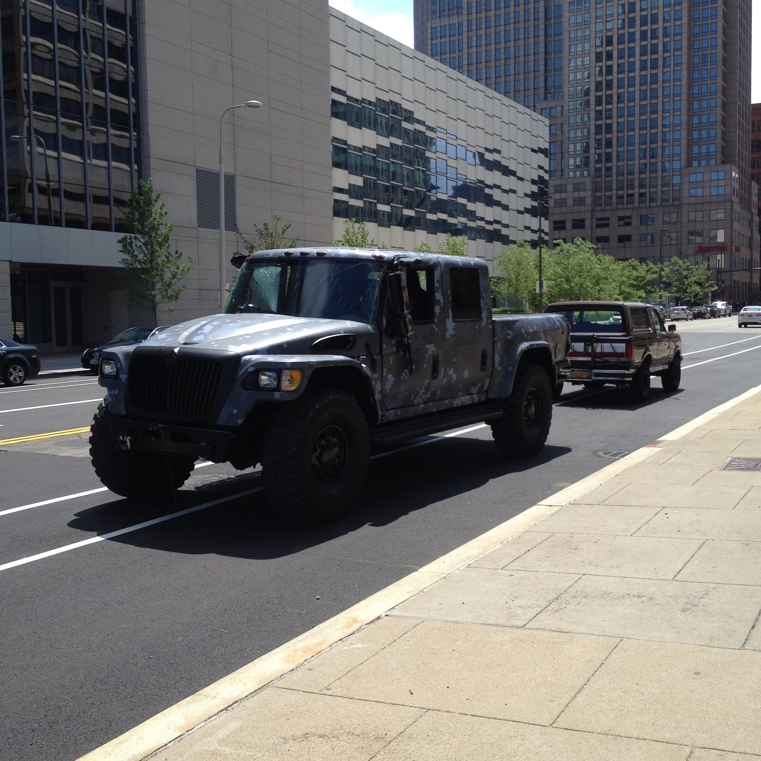 Fast and Furious Fast 8 Filming Cleveland