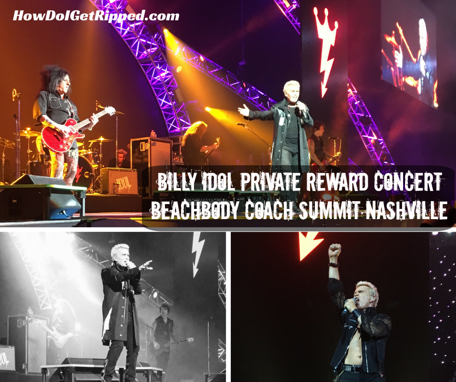 Billy Idol Private Concert Summit 2016