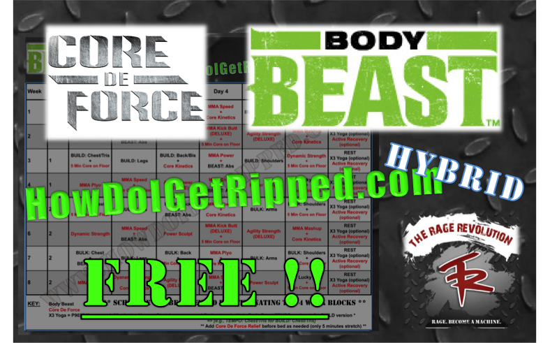 Body Beast Core De Force Hybrid
