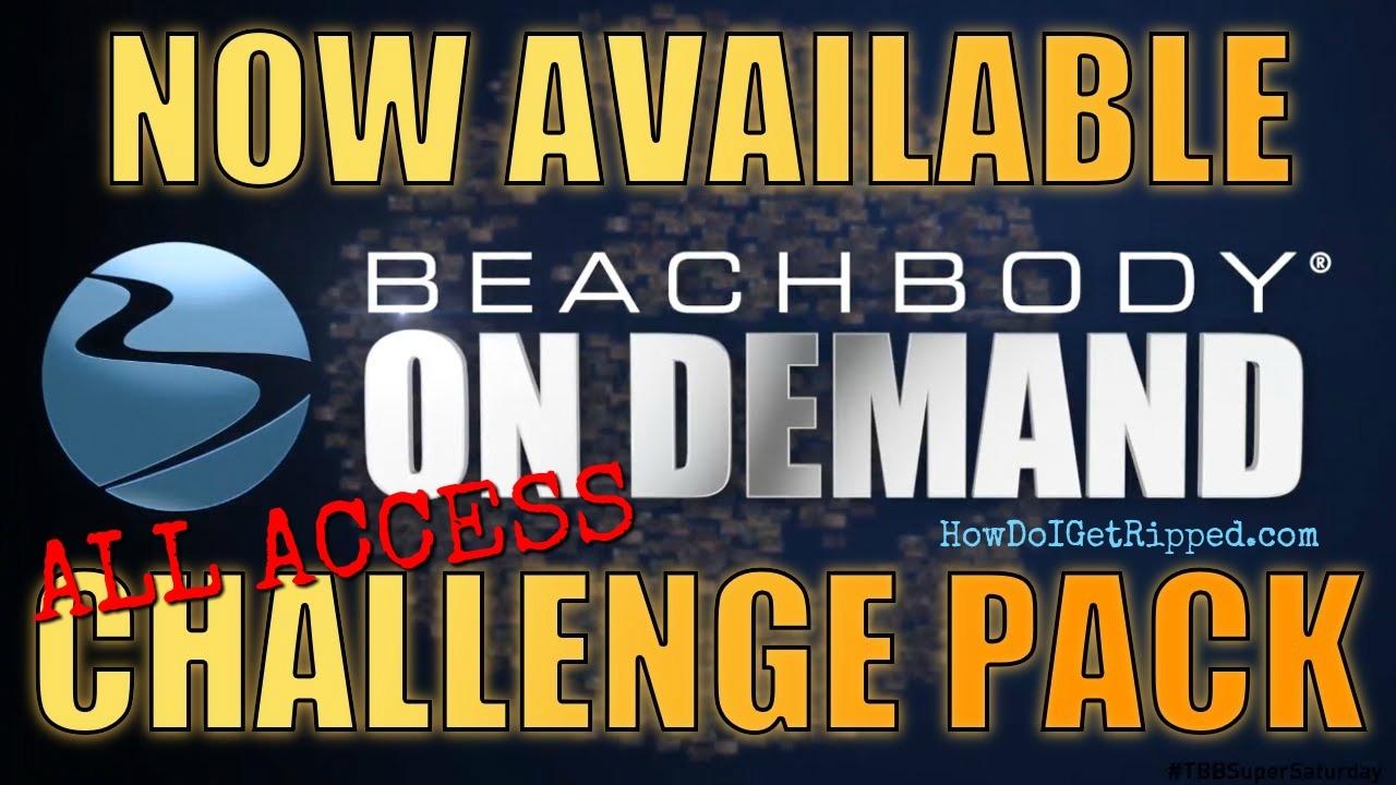 All Access Beachbody On Demand Challenge Pack