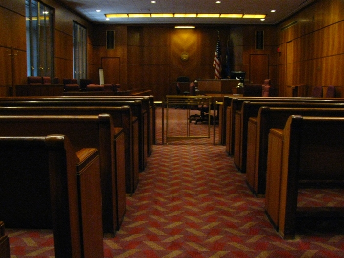 Jury Duty Courtroom